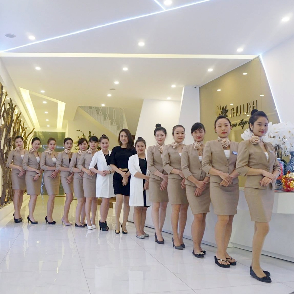 May Đồng Phục Spa